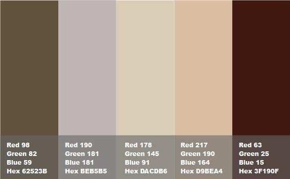marrone iroko con tonalità opache, di verde, grigio e rosa