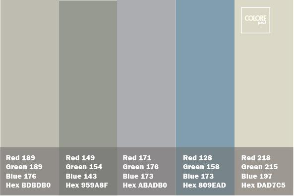 Colori Pareti Azzurro : Tavolozza #18 colorepuro colorepuro.it