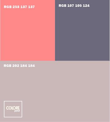 Tabelle abbinamento colori gamma colori pareti with colori - Colori per facciate esterne ...