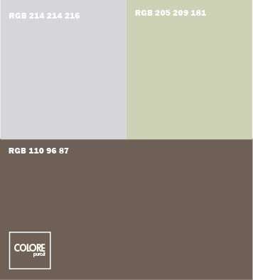 tabelle abbinamento colori - Colore Pareti Soggiorno Marrone 2