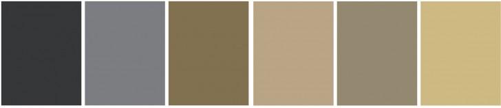 Schema colori per ambiente con atmosfera equilibrata