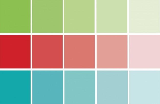 Schema colori complementari divergenti - COLOREPURO.IT