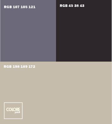 Abbinamento grigio grigio azzurro nero