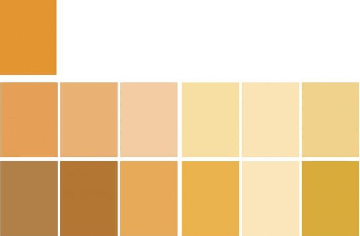 Schema Monocromatico Arancione