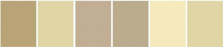 Schema colori per ambiente con atmosfera ariosa